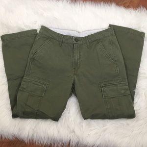 Levi's Olive Green Cargo Pants